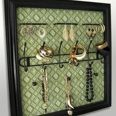 Jewelry display - I could make this from a coat rack to display bracelets and necklaces at the flea market.