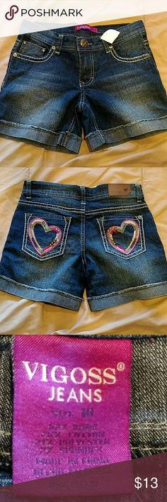 Cute Jean Shorts BNWT Vigoss Bottoms Shorts