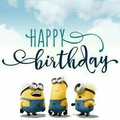 We Have a Article On Happy Birthday Minions Images And Quotes If You Are Searching On It so You Are On Right Place Minion Birthday Wishes, Birthday Wishes For Kids, Cute Happy Birthday, Birthday Messages, Birthday Images, Happy Birthday Cards, Birthday Quotes, Birthday Greetings, Birthday Funnies