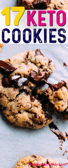 The BEST keto cookies!! Cookies on the keto diet?? YES! These keto cookies recipes are AMAZING. If you're on the ketogenic diet, you'll love these dessert keto recipes. (Number 5 is my fave!) Try all of these incredible low carb cookie recipes! #keto #ketogenic #ketodiet #ketorecipes #ketocookies #ketogenicrecipies