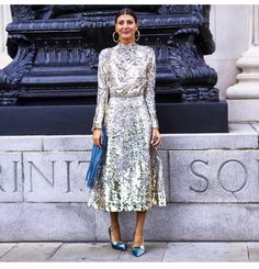 "21.2 m Gostos, 179 Comentários - Giovanna Battaglia Engelbert (@bat_gio) no Instagram: ""#myfavoritecoloris Sparkle and Shine regram @thestreetvibe dress by @emiliawickstead shoes…"""