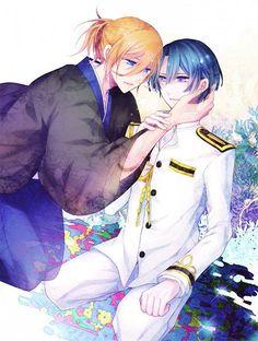 #utapri Masato and Ren~<3 ^o^ [credits:Tomoe Kiko]