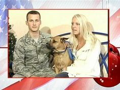 In memory of First Lt. Arthur Glaz, pictured here with wife Natalie, and Sprocket.