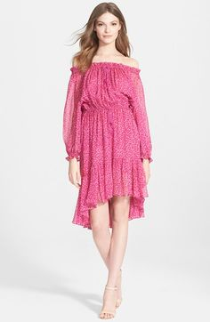 Diane von Furstenberg 'Camila' Print Silk Dress available at #Nordstrom