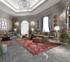 Luxury interior Design Company in Dubai UAE .IONS DESIGN one of the leading interior design Firms with world class designers.provides home designs , commercial retail and office designs Moroccan Decor Living Room, Morrocan Decor, Moroccan Room, Moroccan Interiors, Modern Moroccan Decor, Turkish Decor, Moroccan Furniture, Ethnic Decor, Moroccan Lanterns