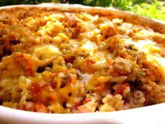 Spicy Cajun Seafood Casserole