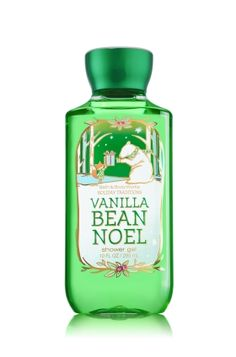 Vanilla Bean Noel - Shower Gel - Bath & Body Works - Wash your way to softer, cleaner skin with a rich, bubbly lather bursting with fragrance. Moisturizing Aloe Vera and Vitamin E combine with skin-loving Shea Butter in our most irresistible, beautifully fragranced formula!