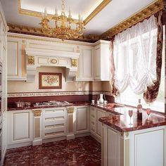 Нравится? Ставь лайк❤ #спальня #гостиная #прихожая #ванная #гардеробная #зал #кухня #дизайн #интерьер #дизайнер #design #дом #красивыйдом #барокко #классика #прованс #interior #interiordesign