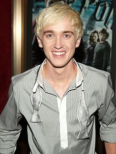 Tom Felton at the Harry POtter and the order of the Phoenix premier in NYC