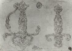 Sword Designs Photo #1 • Dated: 16th century • Culture: possibly Flemish Photo…