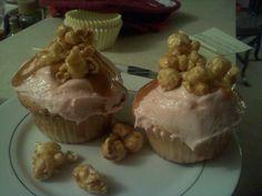 Butter Toffee Popcorn Recipe | Brown Sugar Food Blog Butter Toffee Popcorn Recipe, Popcorn Recipes, Cupcake Recipes, Popcorn Cupcakes, Sweet Cupcakes, Shrimp Hush Puppies Recipe, Ooey Gooey Butter Bars, Sour Cream Ingredients, Sweet Potato Pecan Pie