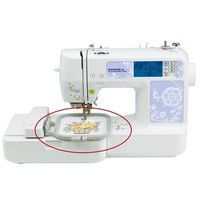 Wish | Embroidered Box Hoop Frame Set For SE270D SE-350 SE-400 500D 900D Sewing Machine (Size: 1 Set)