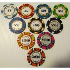 12 Casino Uncirculated Poker Chips Ideas Poker Chips Poker Casino Poker