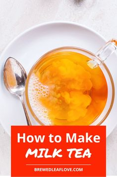 There's nothing more soothing than a steaming cup of creamy milk tea. Milk Tea Recipes, Green Tea Recipes, Green Tea Drinks, Green Teas, Easy Healthy Recipes, Healthy Drinks, Lactose Free Milk, Green Tea Ice Cream, Jasmine Green Tea