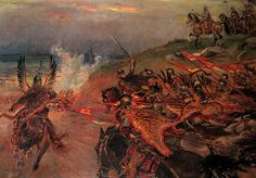 Battle of Vienna Anno Domini 1683 by Jerzy Kossak