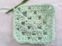 Learn How to Crochet a Classic Granny Square