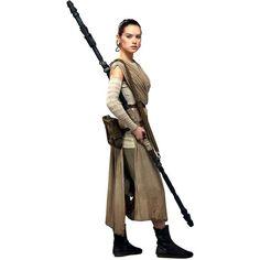 Star Wars The Force Awakens cardboards: Rey