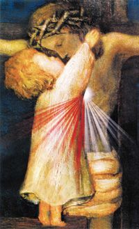 I pray each of us is the child in this image during this Holy Week and always! Oh, how joyful we would make Jesus!