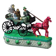 Horse of a Different Color Music Figurine