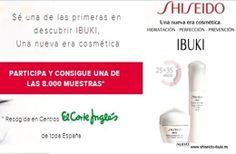 Muestras gratis Ibuki de Shiseido A través de El Corte Inglés podremos hacernos con una crema Ibuki de la firma de cosmética japonesa Shiseido. Ibuki ayuda a aumentar la resistencia de la piel para que se pueda mantener bella ahora y en su futuro. http://www.sorteosyregalosgratis.com/muestras-gratis-ibuki-de-shiseido