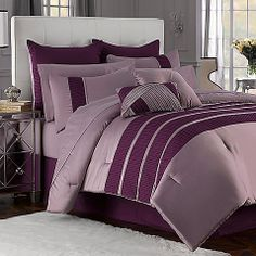 For Brianna: Illusions 12-Piece Comforter Super Set at BedBathBeyond