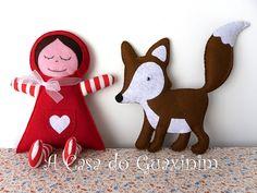 A Raposa! A nova amiga da Boneca Abraços / The Fox! The Hugs Doll new friend!