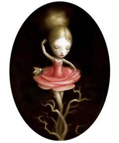 """Rose"" by Nicoletta Ceccoli"