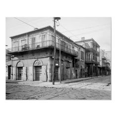Old Absinthe House, New Orleans: 1906
