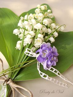 Lily of the valley & sweetly scented double parma violets
