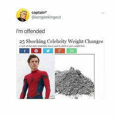I am now deeply offended Superhero Memes, Avengers Memes, Marvel Memes, Marvel And Dc Superheroes, Marvel Avengers, Marvel Comics, Tom Holland, Funny Memes, Hilarious