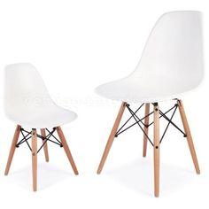 Replica Charles Eames Childrens Chair (Wood Legs) on www.rakuten.com