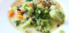 Zdrowa przekąska. Jesienne kulki dyniowe w trzech smakach – Mój pomysł na Cheeseburger Chowder, Broccoli, Risotto, Food And Drink, Cooking Recipes, Vegetables, Ethnic Recipes, Fit