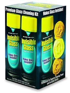 Invisible Glass Premium Glass Cleaning Kit, 99011. For product info go to:  https://www.caraccessoriesonlinemarket.com/invisible-glass-premium-glass-cleaning-kit-99011/