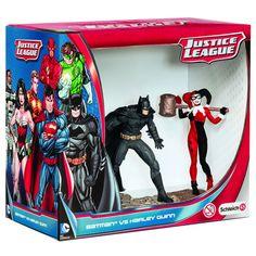 BLOG DOS BRINQUEDOS: Batman vs. Harley Quinn PVC