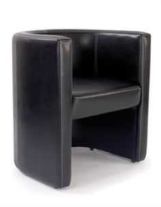 Black single bonded leather reception chair Ideal for reception use. Contemporary design with the finest quality Italian leather. luxurious square design seating in soft bonded leather. Cane Furniture, School Furniture, Reception Furniture, Single Sofa, Online Furniture Stores, Upholstered Chairs, Sofa Set, Tub Chair, Seat Cushions