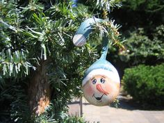 35 Snowman Painted Spoon Christmas Ornament by SantaHeaven on Etsy, $15.00