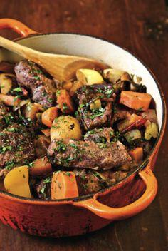 Crockpot Autumn Venison Stew