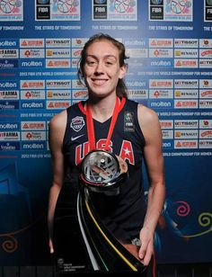 USA Basketball female Breanna Stewart