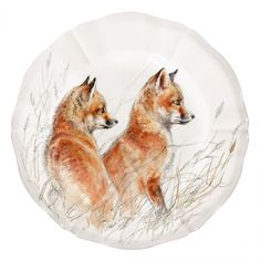 Animal Painter, Wild Rabbit, Fine Linens, Cottage Living, Earthenware, Cubs, Special Gifts, Decorative Plates, Wildlife