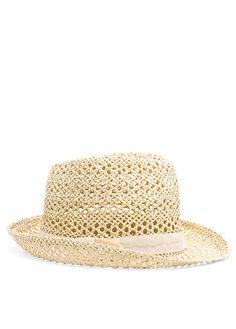 Mango straw hat ($40)