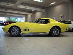 1969 corvette stingray yellow