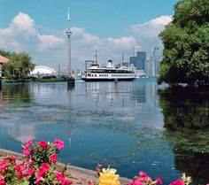 Fave thing to do in the summer...take the Toronto Ferry to Centre Island...sigh...it's been years! I am making myself severely homesick!!!