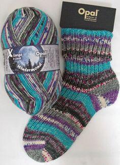 Yarn 8ply dk wintermoon turquoise purple chunky sock- and jumperyarn with free…