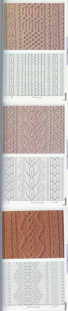 Вязание: красивые узоры спицами