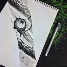 Очешуительный в своей простоте дизайн, вырвиглаз - вернулся к тому, с чего начинал. 👁😈 Эскиз свободен и ждёт своего носителя!    #sketch #moscow #carnivane #moscowtattoo #gettattoo #eye #eyetattoo #design #tattoodesign #msk #ink #inked #draw #drawing #painting #art #black #глаз #тату #москва #москваграм #мск #москвасити #москватату #татумосква #эскиз #horror #dark #darkart #в_хэштеги_упал