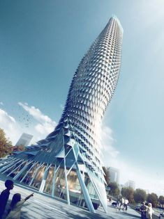 Fish-inspired #skyscraper by RMJM wins Chinese tower contest.