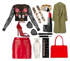 """On that day..."" by pulseofthematter ❤ liked on Polyvore featuring Esin Akan, Barbara Bui, Yves Saint Laurent, Lanvin, Brixton, MANGO, NARS Cosmetics, Prada, Victoria's Secret and Charlotte Russe"