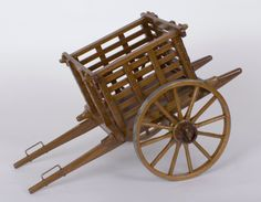 Hauler Wooden Cart, Wooden Wagon, Diy Popsicle Stick Crafts, Horse Drawn Wagon, Diy Workbench, Wagon Wheel, Wheelbarrow, Miniture Things, Wood Toys