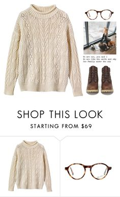 """2853."" by a-colette ❤ liked on Polyvore featuring Toast and Timberland"