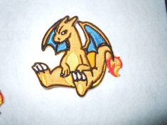 Charizard Pokemon Patch by LittleWolfStudios on Etsy https://www.etsy.com/listing/235043374/charizard-pokemon-patch